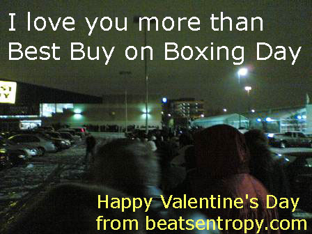 Valentine's Day Card - I Screwed Up Nerd Geek Boxing Day